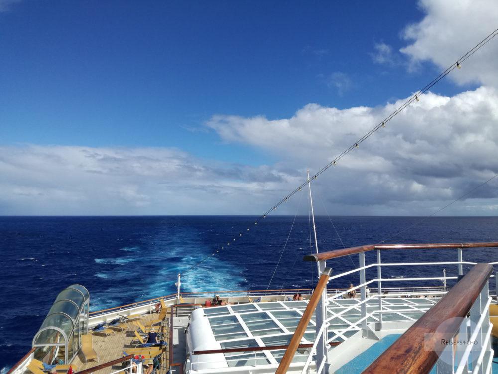 Unterwegs auf hoher See