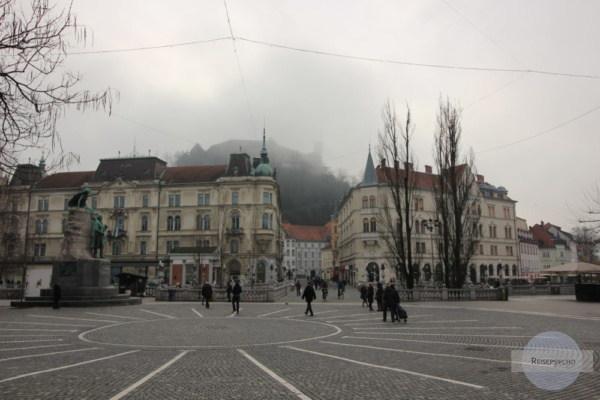 Ljubljana im Neben im Jänner