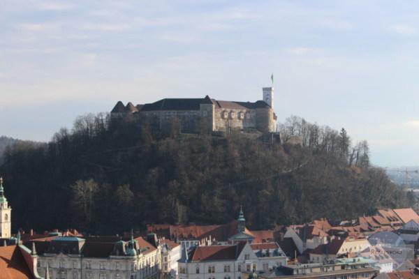 Burg am Schlossberg in Ljubljana