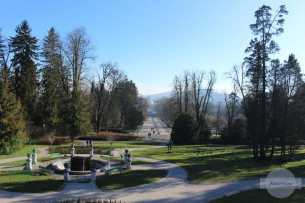 Der Tivoli Park ist eine tolle Sehenswürdigkeit in Ljubljana