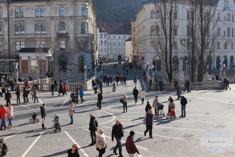 Preserenplatz in Ljubljana