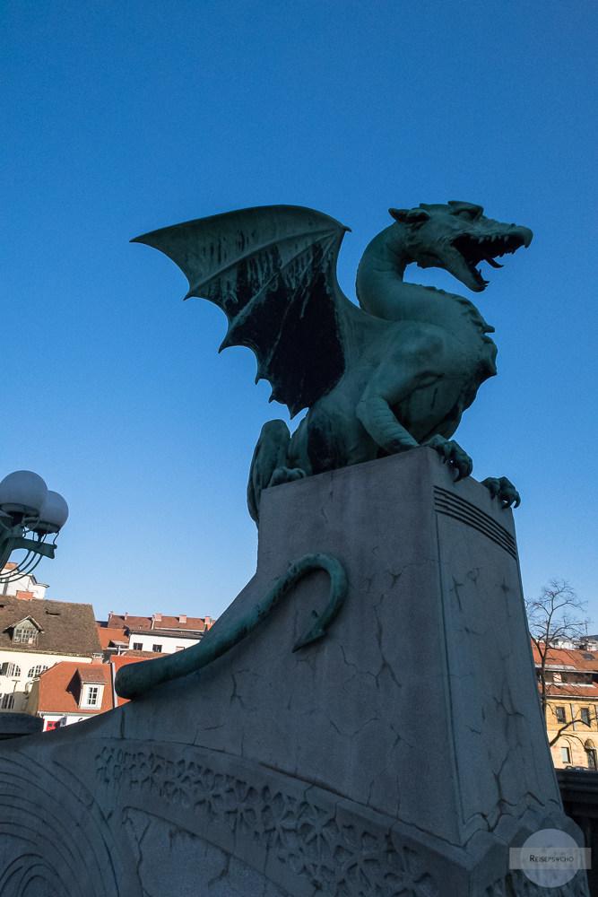 Drachenbrücke in Ljubljana