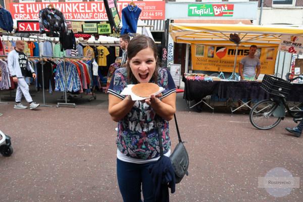 Stroopwaffel macht Freude auf Reisen