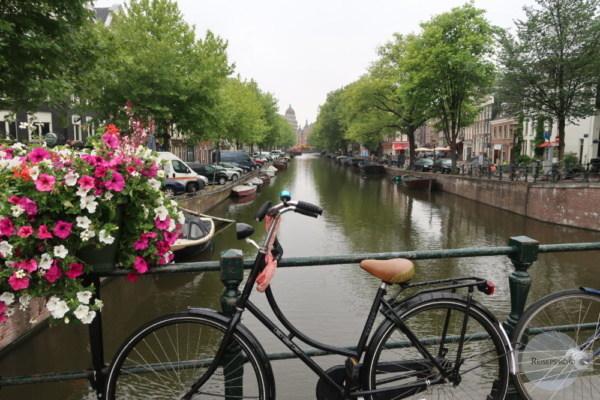 Amsterdam Gracht Fahrrad