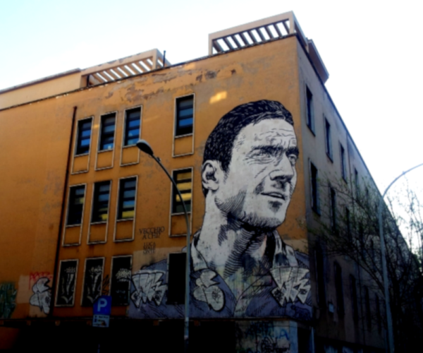 Street Art Rom Luca Maleonte Quadraro