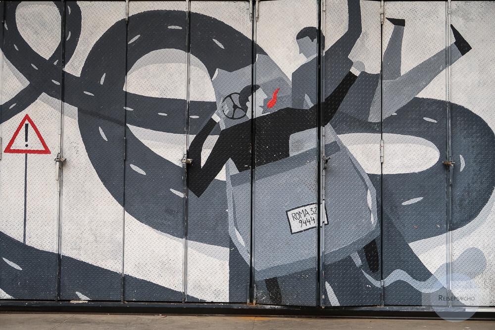 Street Art in Rom – öffentliche Kunst in der ewigen Stadt