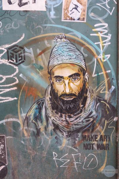 Street Art in Rom Trastevere