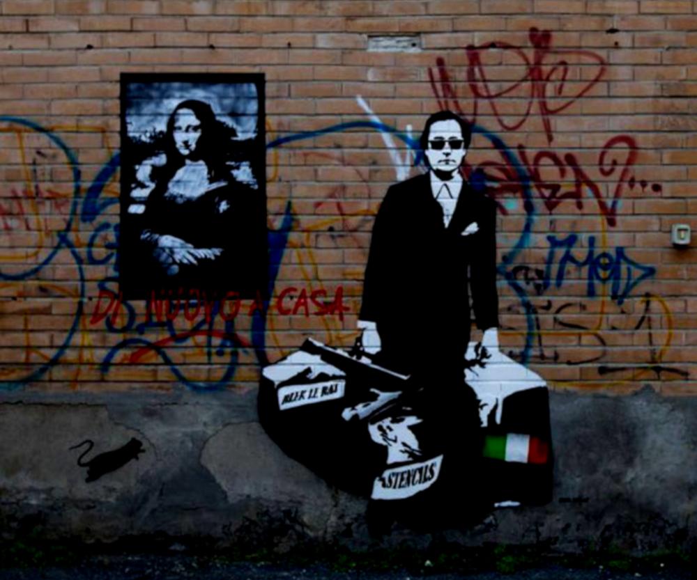 Street Art Rom Tor Pignattura