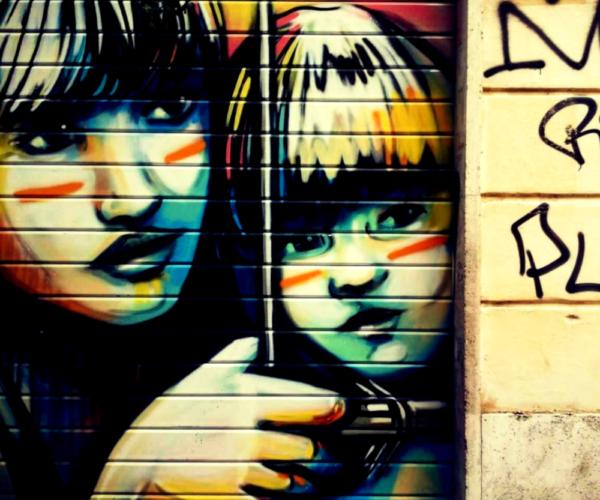 Street Art Rom Pigneto Pasquini