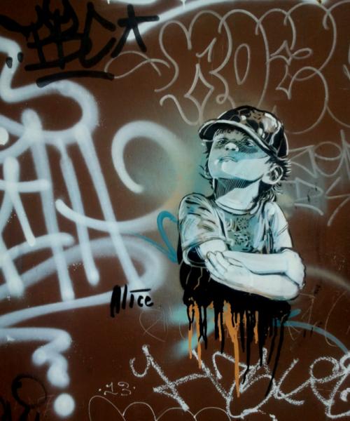 Street Art Rom San Lorenzo Pasquini