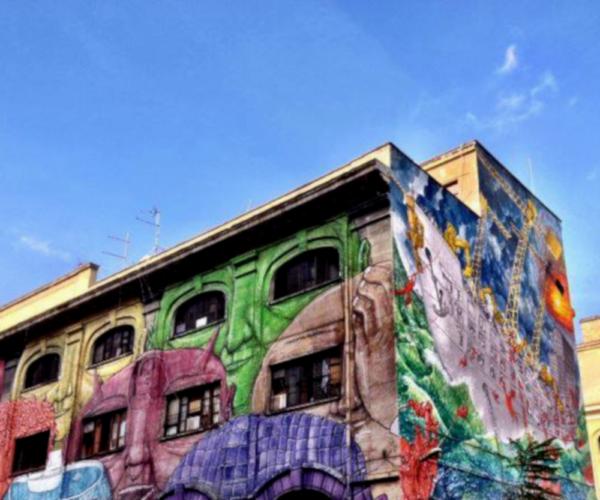 Street Art Rom Ostiense