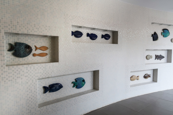 Fische in der Therme Bük