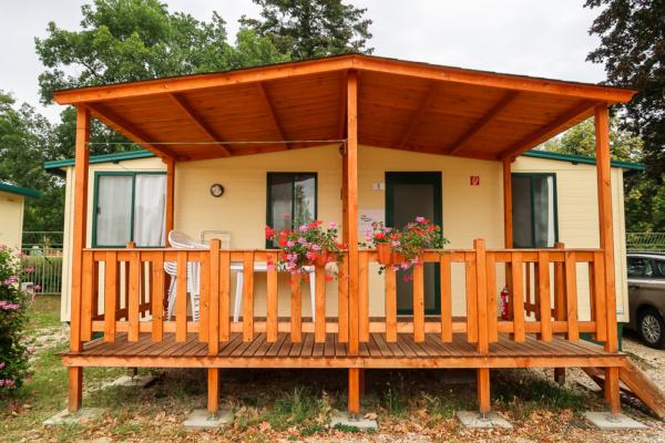Mobilehome am Campingplatz der Therme Bük