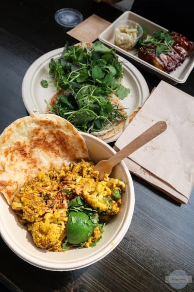 Asiatisch essen am Street Food Market in Kopenhagen