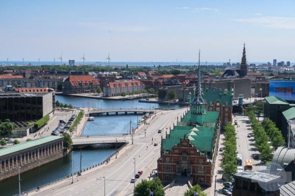 Kopenhagen von oben