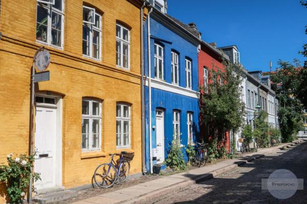 bunte Häuser in Kopenhagen