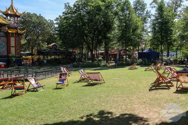 Tivoli - Park im Sommer
