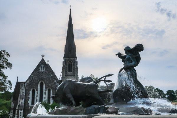 Gefion - Springbrunnen in Kopenhagen
