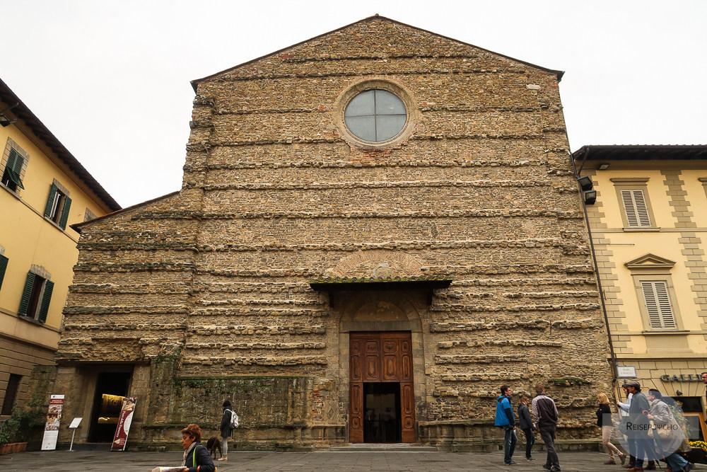 Kirche San Francesco in Arezzo, Toskana