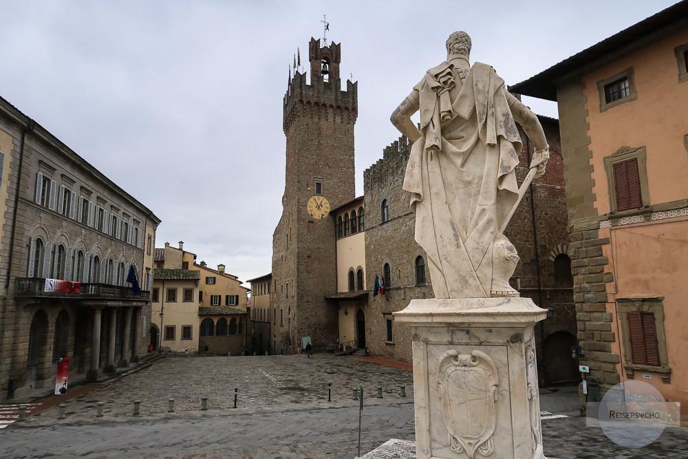 Arezzo in der Toskana, Italien