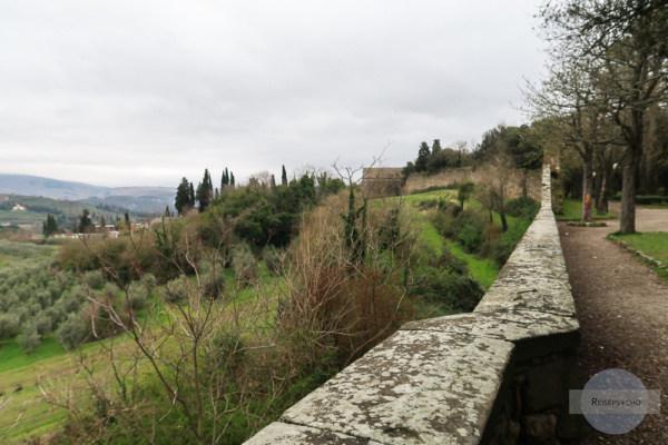 Weinland um Arezzo Italien