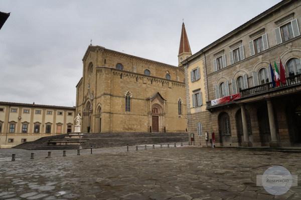 Die Kathedrale San Donato in Arezzo, Italien