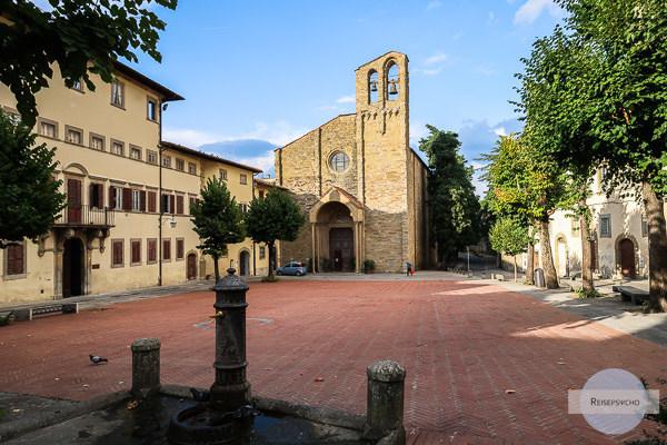 Kirche San Domenico in Arezzo, Italien