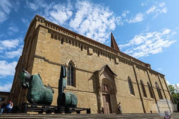 Kathedrale / Dom in Arezzo