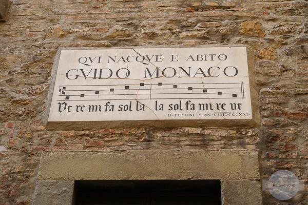 Guido Monaco aus Arezzo