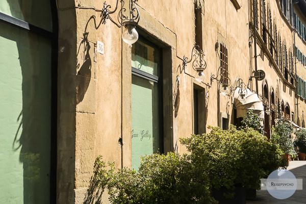 Gassen in der Altstadt von Arezzo, Italien