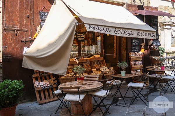 Alte Taverne in Arezzo Altstadt