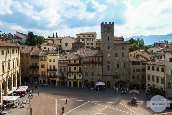 Aussichtspunkt in Arezzo