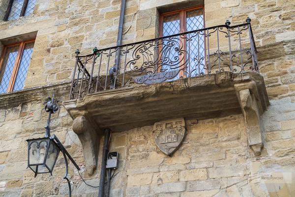 Alter Balkon in Arezzo