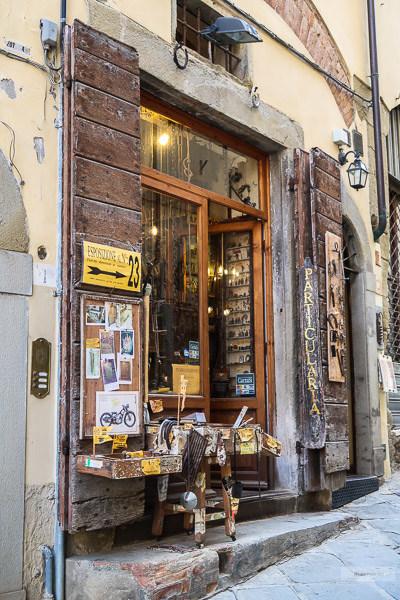 Antiquitäten Geschäft in Arezzo