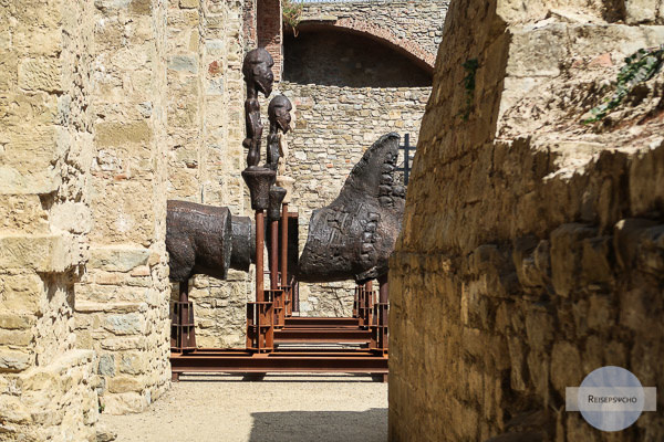 Fortezza Medicea, Festung der Medici in Arezzo Toskana