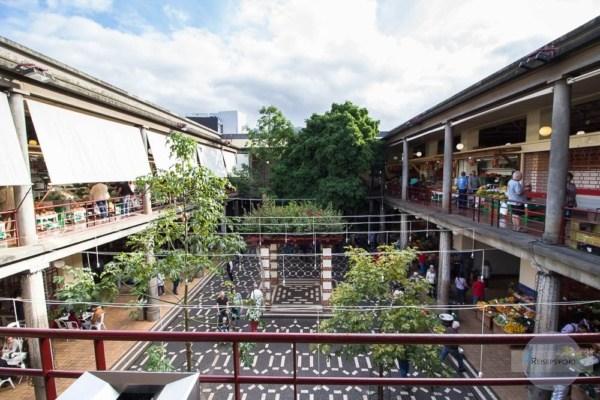 Der Mercado dos Lavradores ist offen gestaltet