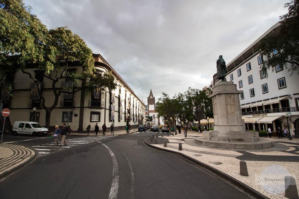 Altstadt von Funchal auf Madeira