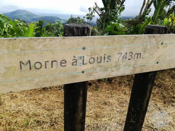 Aussichtspunkt Guadeloupe