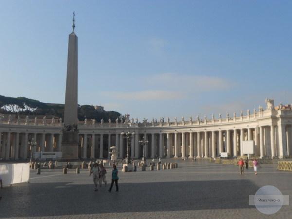 Petersdom in der Früh besichtigen