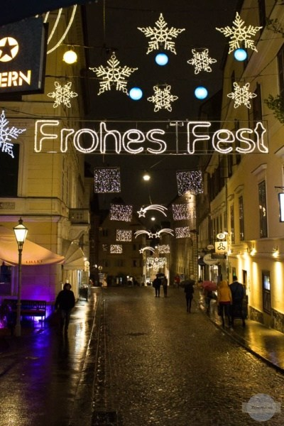 Frohes Fest in Graz
