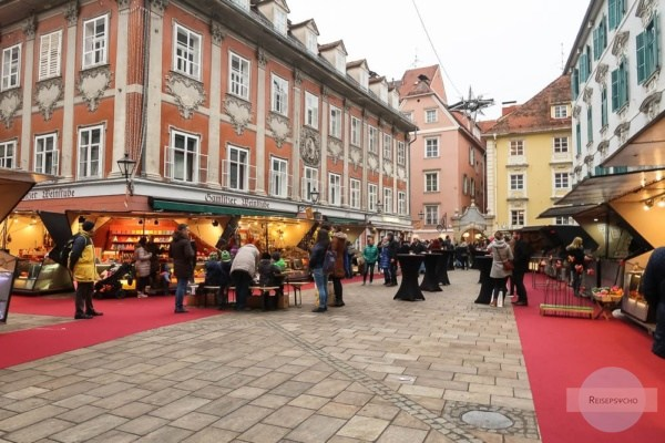 Mehlplatz Graz im Advent