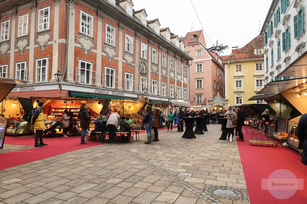 Mehlplatz Graz im Advent
