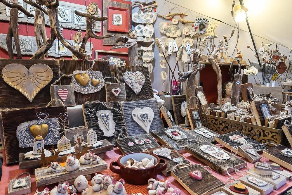 Künstlerhandwerk am Christkindlmarkt in Graz