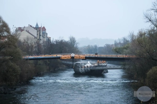 Murinseln im Nebel - Graz Advent