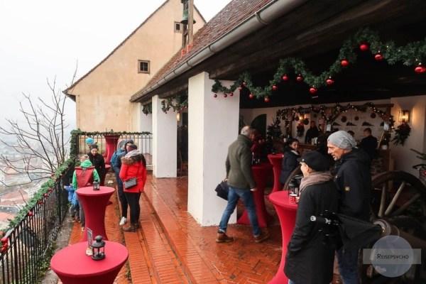 Garnisonsmuseum am Schlossberg Graz im Advent
