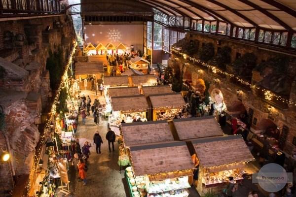 Der Aufsteirern-Christkindlmarkt am Schlossberg Graz