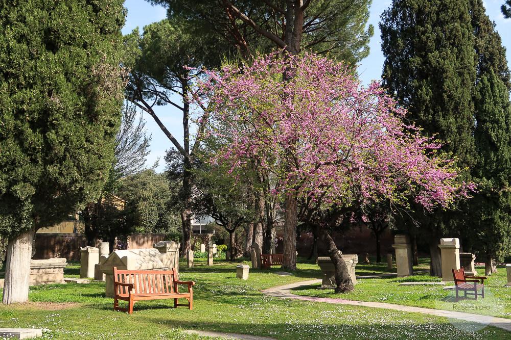 Der nicht - katholische Friedhof in Rom ist ein wahrer Geheimtipp