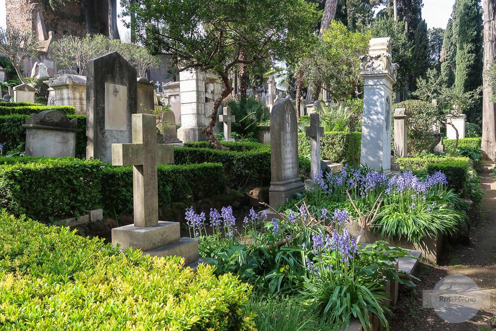 Cimitero Acattolico - der schönste Friedhof Roms
