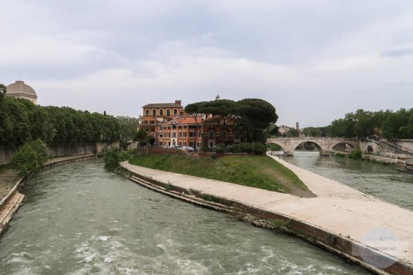 Tiberinsel - Geheimtipp für Rom