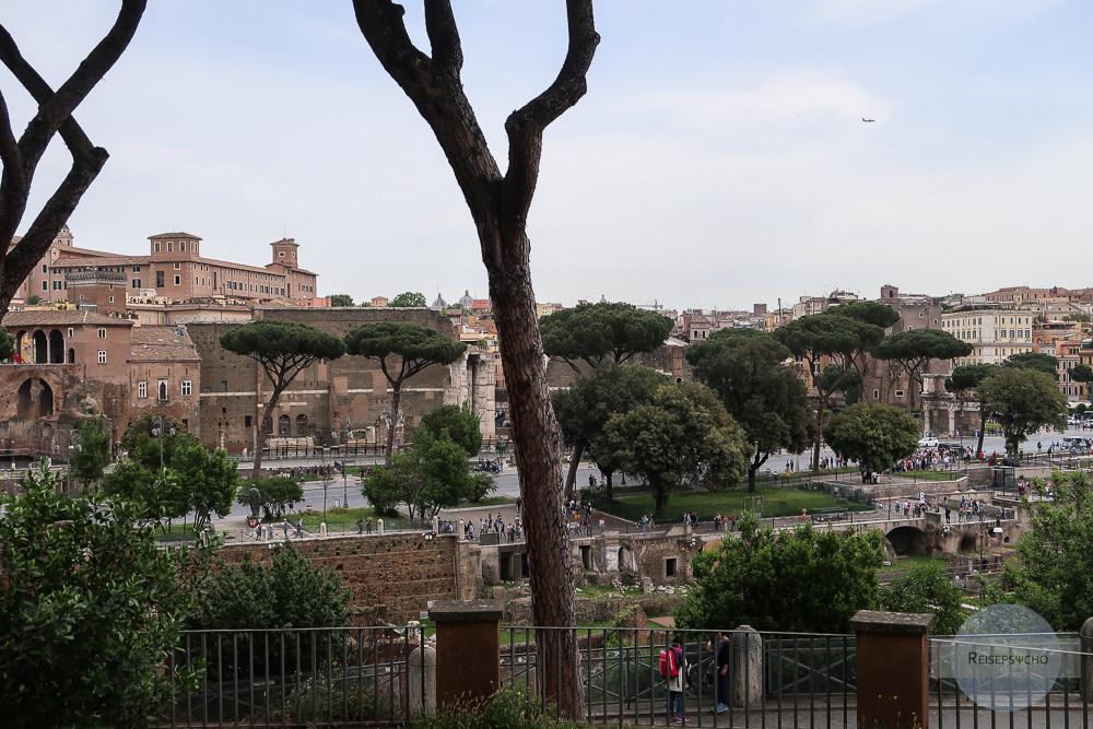 Picknick am Kapitol in Rom